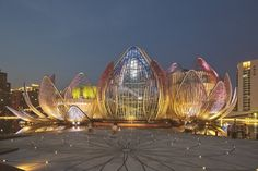 The Lotus Building by Studio505 Architecture and design firm Studio505, have recently completed the Lotus Building in Wujin, China.