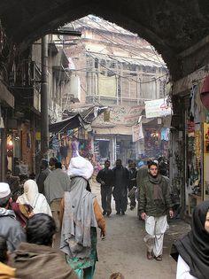 Pakistan - 099 Lahore Old City Delhi Gate Iran Travel, Pakistan Travel, Pakistan Army, Lahore Pakistan, Pakistan Pictures, Bagdad, Walled City, Vintage Classics, Street Culture