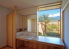安曇野の平屋の家