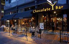 The Chocolate Bar, 347 Euclid Avenue, Cleveland, Cuyahogoa County, Ohio [Plain Dealer photo] My favorite restaurant in Ohio!