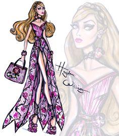 Hayden Williams Disney Divas 'Beach Beauties' - Aurora