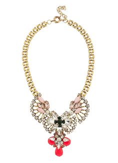 Penny Lover Glass Strand necklace from shopprimadonna.com