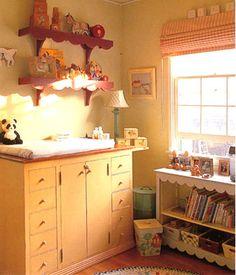Image result for vintage boy nursery