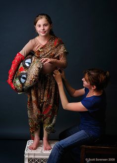 Jungle Book Kaa costume by Sight3.com, via Flickr