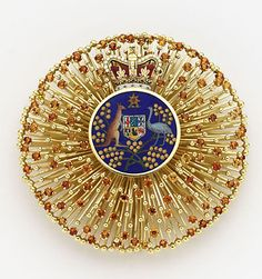 Order of Australia – Chancellor's Badge Royal Jewels, Coat Of Arms, Steampunk, Awards, Stones, Photography, Jewelry, World, Australia