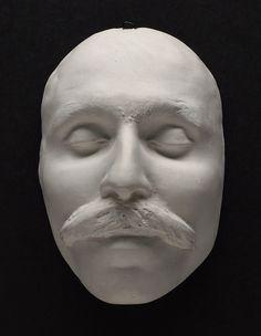 Death mask, Bartolomeo Vanzetti, Boston, 1927