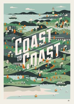 Coast to Coast By Neil Stevens | NEIL STEVENS WORDS & PICTURES