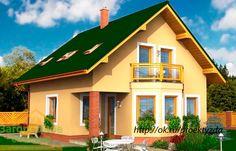 Общая площадь (база) 116.0 м2 Площадь застройки 74.6 м2 Габариты дома 9.0х8.0 м  http://ok.ru/proektyzda/topic/65443170634626