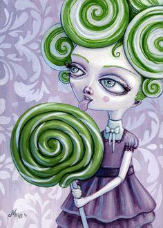 Young lolly lime by Megan Majewski