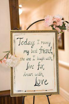 a sweet little message