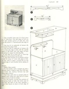 Old-fashioned kitchen sink and cabinet from: Muebles auxiliares - Maria Jesús - Picasa Webalbum