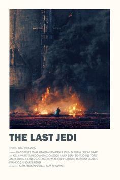 Alternative Star Wars The Last Jedi movie poster