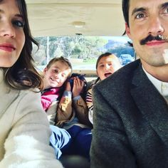 ...but they also post adorable photos of themselves alongside the actors who play the young Pearson children, too!