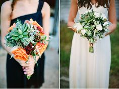 gorgeous bouquets for the bride + her girls // green wedding shoes / New Jersey Vineyard Wedding: Kirby + Matt