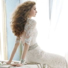 If you love lace, and umm, who doesn't, you're gonna love this collection of fabulous lace back wedding dresses