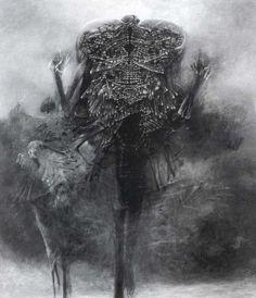 Artist Zdzislaw Beksinski
