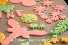 Fondant shapes