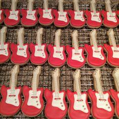 #guitarcookies # birthdayfavors