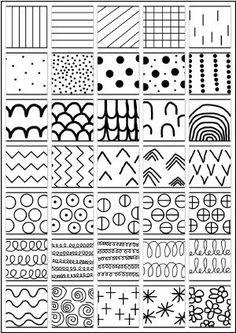 Cartes de graphisme à reproduire