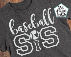 Baseball Mom Shirts, Baseball Shirt Designs, Sports Mom Shirts, Sport Shirt Design, Baseball Sister, Baseball Pants, Baseball Cleats, Espn Baseball, Shirts