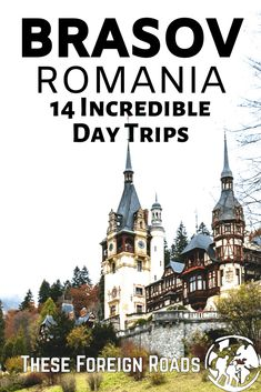 Day Trips from Brasov, Romania - One of the best places to base yourself when travelling Romania is Brasov. Here are 14 day trips that you can take from the beautiful city of Brasov and see the amazing country of Romania. #RomaniaTravel #TheseForeignRoads #BrasovRomania