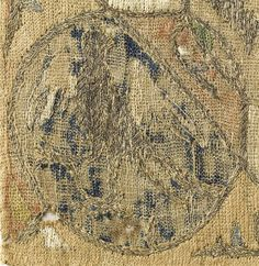 Cote cliché : 10-527926 N° d'inventaire : CL2157 Fonds : Objets d'art Titre : Carreau brodé ; figures fantastiques Description : Provient de l'abbaye de Citeaux (Côte d'Or) Crédit photographique : (C) RMN / Jean-Gilles Berizzi Période : 14e siècle, Bas Moyen Âge Technique/Matière : broderie (textile), fil d'or, soie (textile) Site de production : France (origine), site de production incertain, Suisse (pays) (origine) Hauteur : 0.279 m. Longueur : 0.272 m. Localisation : Paris, musée national…
