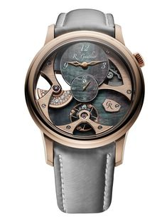 TimeZone : Industry News » SIHH 2018 - Romain Gauthier Insight Micro-Rotor