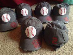 Baseball mom hats
