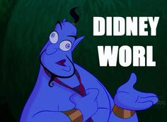 Didney Worl?? I think this is me