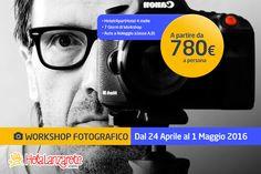 Workshop Fotografico (8 Giorni in stanza doppia) Persona, Tours, Signs, Fotografia, Lanzarote, Novelty Signs, Signage, Dishes, Sign