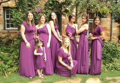 All the ladies looked fabulous in the beautiful Isabella Blue Dresses supplied by From This Moment