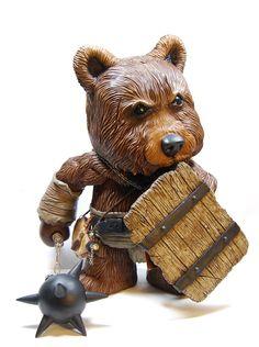 """BearBarian 18"""" #Qee"""