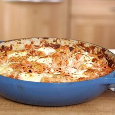 With this zippy baked ziti, you'll have your dinner in almost no time.