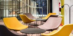 Yellow Chairs - Quality Hotel 33