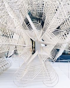 'Forever' by Ai Weiwei in front of the Gherkin. Or....in other words: #ihavethisthingwithbikes