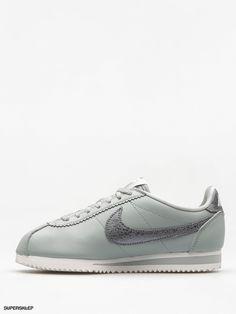 f1f196505b5c2 Buty Nike Classic Cortez Premium Wmn (light pumice/mtlc cool grey summit  white)