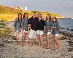 Nobska Beach Family Portrait