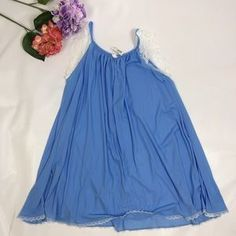 amanda rich Other - NWT AMANDA RICH NIGHT GOWN BLUE SIZE M #amandarich #nightgown #poshmark #shopping #womens