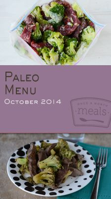 Embrace the changing seasons with a freezer full of meals boasting the warming flavors of curry, pumpkin and other autumn delights in our Paleo October 2014 Menu. | Paleo October 2014 Menu | Once A Month Meals | OAMC | Freezer Cooking | Freezer Meals | Customized Shopping List | Custom Serving Menus | Pre-planned Menus | Customize your own!