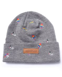 Akomplice - Bird Embroidered Beanie Dope Hats 15689f062e08