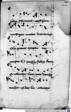 Mönch von Salzburg. Oswald von Wolkenstein: Geistliche Lieder mit Melodien Bayern/Österreich, erste Hälfte 15. Jh.: 3. Viertel 15. Jh. Cgm 715 Folio 219