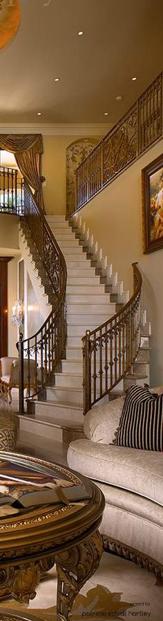 Home Furnishings:  Stairway from living room.