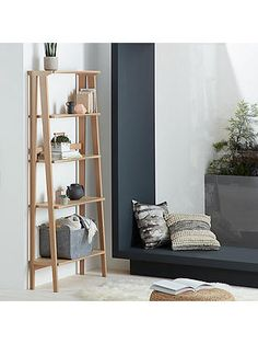 Buy John Lewis & Partners Duhrer Shelving Unit from our Bookcases, Shelving Units & Shelves range at John Lewis & Partners. Oak Shelving Unit, Oak Shelves, Dining Furniture, Furniture Design, Wooden Bookcase, Diy Wood Projects, Home Collections, Solid Oak, John Lewis