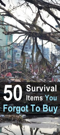 Even hardcore survivalists can overlook things. What did you overlook? Here are some survival items you might have forgotten to buy. via @urbanalan