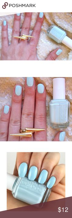 [Essie] ✖️No trades ✖️No lowballs _____________________________ 🌸 Essie Mint Candy Apple 🌸 A crème de menthe mint 🌸 Essie's adorable crème de menthe mint nail polish is perfect in any season. Don't be fooled by its sweet exterior, this apple bites back. 🌸 DBP, Toluene & Formaldehyde free 🌸 Gently used Essie Other