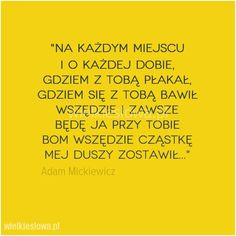 Na każdym miejscu  i o każdej dobie... #Mickiewicz-Adam,  #Różne