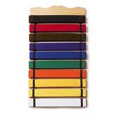 Ten Level Martial Arts Karate Belt Display by BBS. $27.99. Ten Level Martial Arts Karate Taekwondo Belt Display Rack Holder