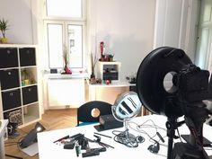 Set für das nächste Video ist eeeendlich aufgebaut worauf man da alles achten muss  Dann kann ich ja anfangen  by kacy - makeup & photo