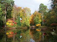 Portmeirion village & garden. Wales, UK-