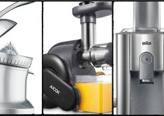 5 Top Juicers For Beginners and Beyond Fruit Juicer, Citrus Juicer, Coconut Smoothie, Banana Coconut, Top Juicers, Healthy Drinks, Healthy Diet Tips, Juicer Machine, Refreshing Cocktails